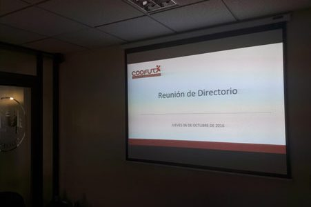 06/10/16 Con éxito fue realizada reunión de directorio: